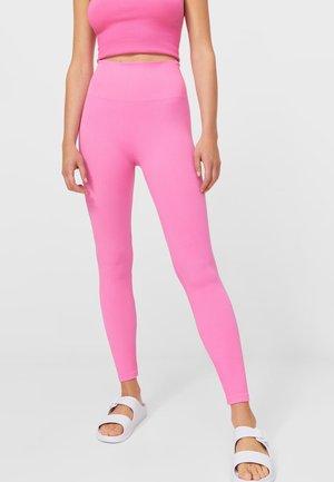 NAHTLOSE - Leggings - mottled pink