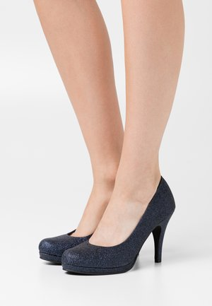 COURT SHOE - High Heel Pumps - navy glam