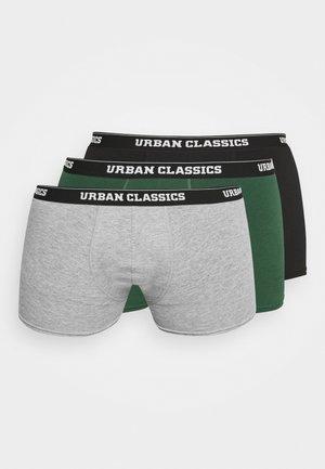 3 PACK - Pants - grey/darkgreen/black