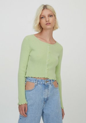 Cardigan - light green