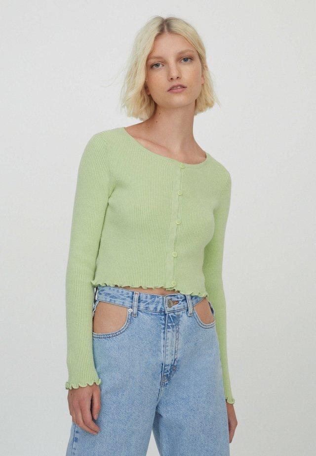 Kardigan - light green