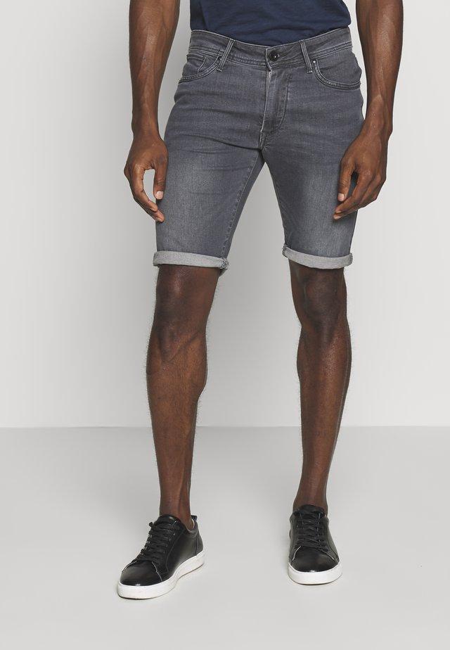 VARAS - Denim shorts - grey
