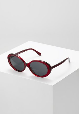 Sunglasses - transparent/burgundy
