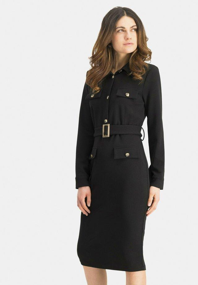 PATINO - Shift dress - schwarz