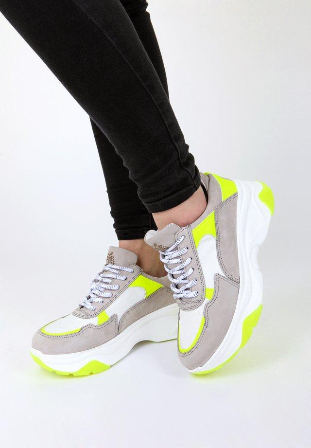 SNEAKER GLADE - Sneakers laag - light grey