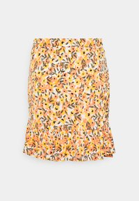 Vila - VIMIE  - Mini skirt - cloud dancer/orange - 1