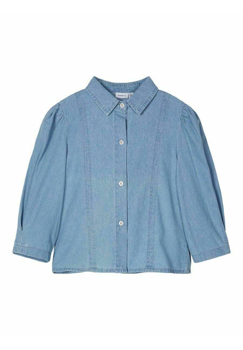 Name it - Button-down blouse - light blue denim