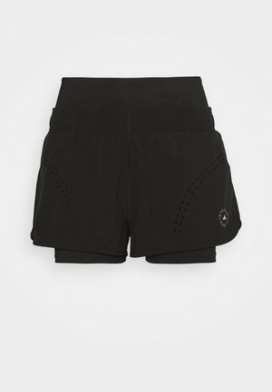 TRUEPUR - Sports shorts - black