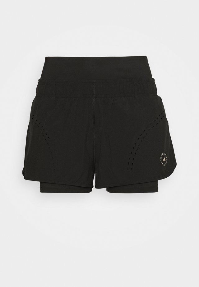 TRUEPUR - Sports shorts - black