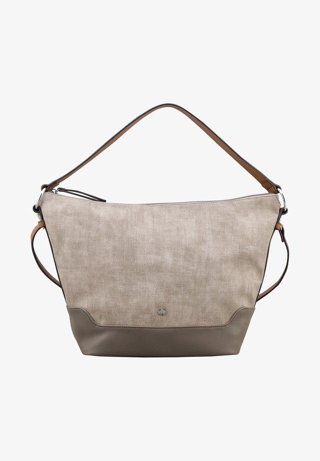 BACK TO EARTH HOBO - Handbag - taupe