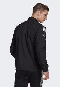 adidas Performance - CONDIVO 21 HYBRID TOP - Trainingsvest - black - 1