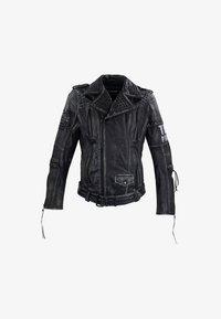 Trueprodigy - Leather jacket - black - 2