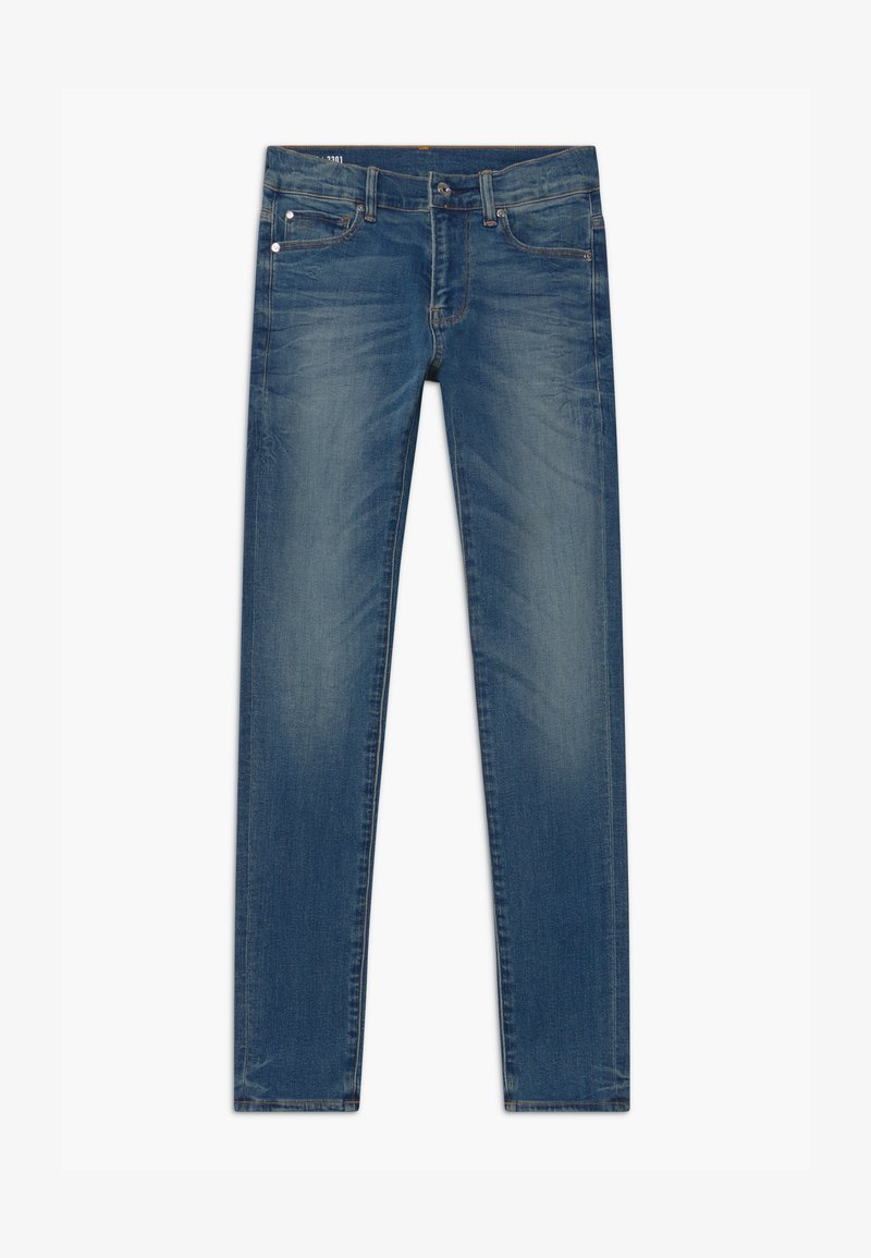 G-Star - 3301 - Skinny džíny - blue denim