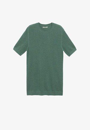 Basic T-shirt - verde agua