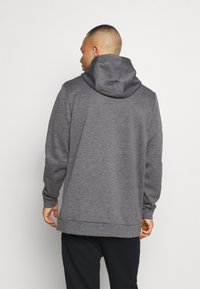 Nike Performance - Sweat à capuche - charcoal heather/black - 2