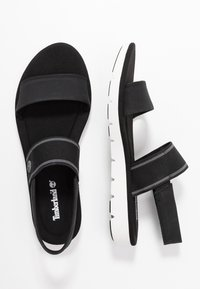 Timberland - LOTTIE LOU 2 BAND - Sandals - black - 1