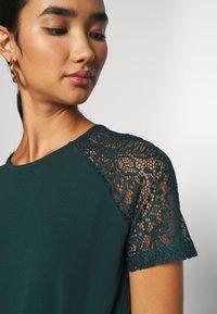 Vero Moda - VMJASMINE LACE TIE SHORT DRESS - Jersey dress - ponderosa pine - 4