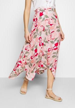 LANG - Maxi skirt - apricot blush