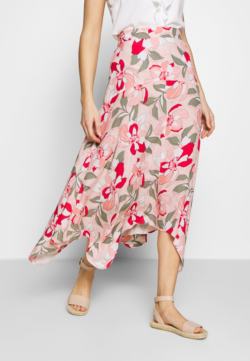 Taifun - LANG - Maxi skirt - apricot blush