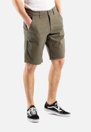 FLEX GRIP CHINO SHORT - Shorts - 160 olive