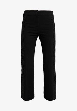 PANTALONE IN PUNTO MILANO - Pantaloni - black
