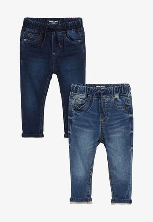 2 PACK JOGGER JEANS - Džíny Slim Fit - blue