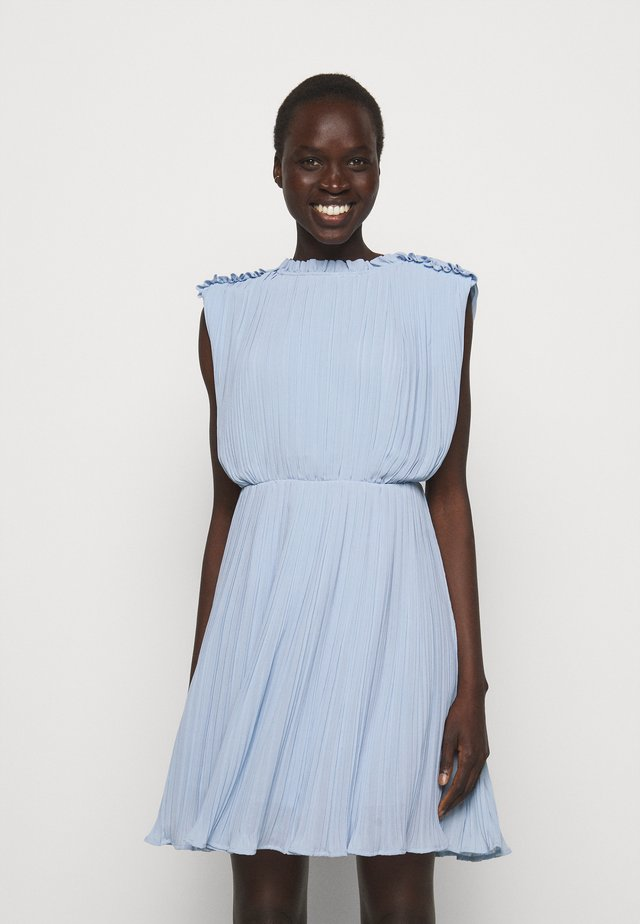 SANREMO SHORT DRESS - Vestito estivo - light blue