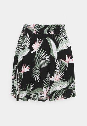 VMSIMPLY EASY SHORT SKATER SKIRT - Mini skirt - black
