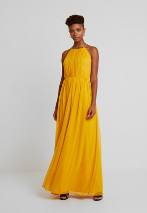 GEOMETRIC GOWN - Vestido de fiesta - yellow