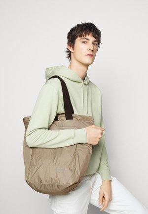 LIGHT TOTE  BAG & BACKPACK - Shopping bag - earth