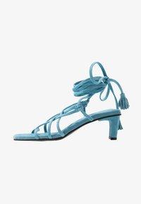 Vero Moda - VMSABINA  - Sandály s odděleným palcem - cyan blue - 1