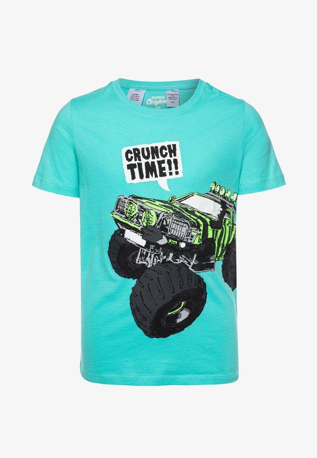 T-shirt z nadrukiem - turquoise