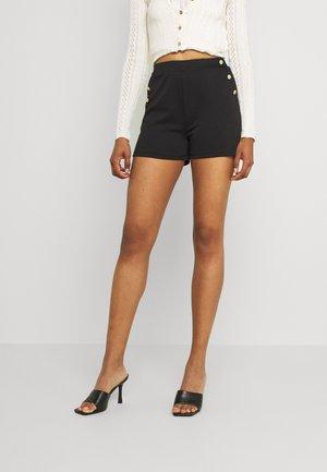 VITINNY BUTTON - Shorts - black