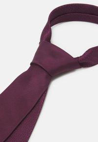 Michael Kors - SOLID  - Tie - mottled purple - 4