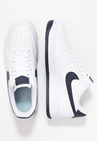 Nike Sportswear - AIR FORCE 1'07 - Sneaker low - white/obsidian/white/ocean cube - 3