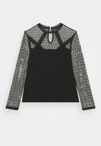 Morgan - TAPLU - Camiseta de manga larga - noir - 7