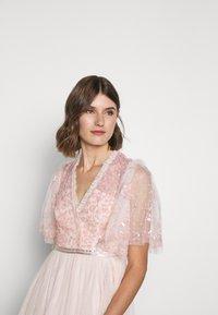 Needle & Thread - PATCHWORK BODICE BALLERINA DRESS - Koktejlové šaty/ šaty na párty - ballet slipper/pink - 3