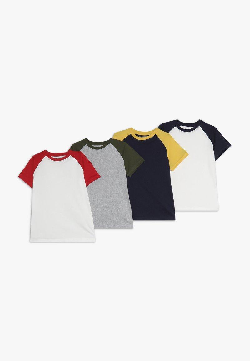 Friboo - 4 PACK - T-shirt print - melange