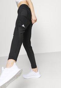 adidas Performance - BAR - Pantalones deportivos - black/white - 3