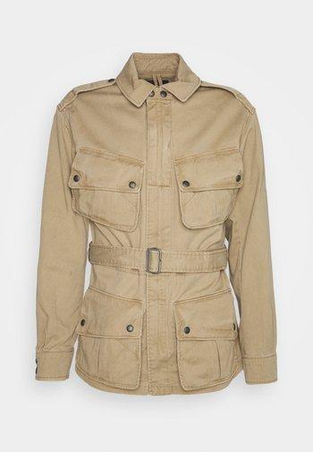 TWILL FIELD JACKET - Summer jacket - desert khaki