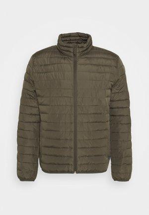 LIGHTWEIGHT PUFFER JACKETS - Light jacket - khaki