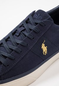 Polo Ralph Lauren - SAYER - Sneakers - navy/gold - 5