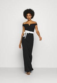 WAL G. - BARDOT BAND DRESS - Suknia balowa - black - 1