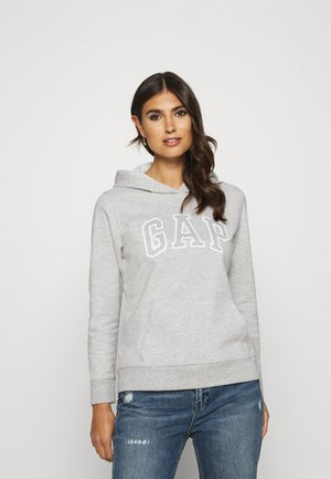 Bluza z kapturem - light heather grey