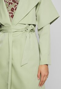 Missguided - WATERFALL COAT - Trench - mint - 5