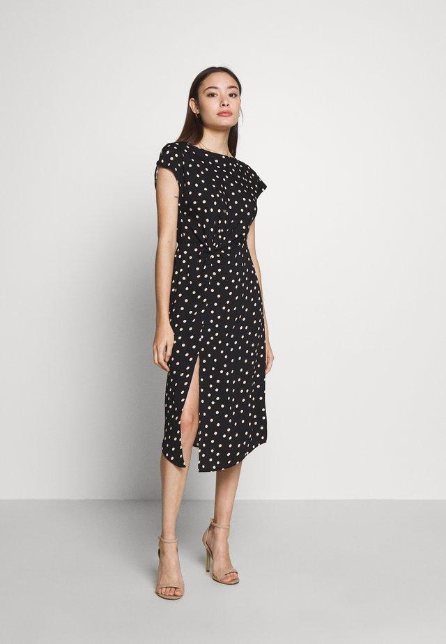 SPOT DRESS - Sukienka letnia - black