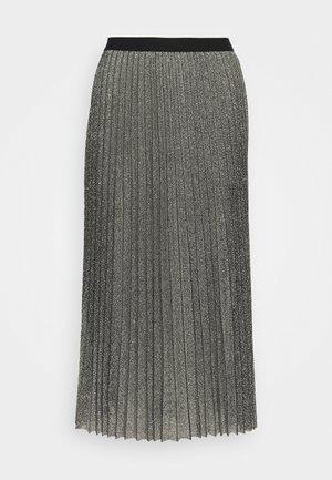 WILIA SKIRT - Spódnica plisowana - silber/grau