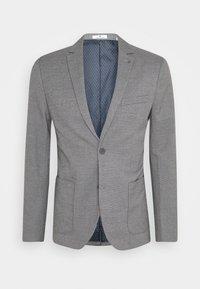 TOM TAILOR - DOBBY - Suit jacket - grey - 6