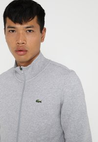 Lacoste Sport - JACKET - Mikina na zip - silver chine - 3