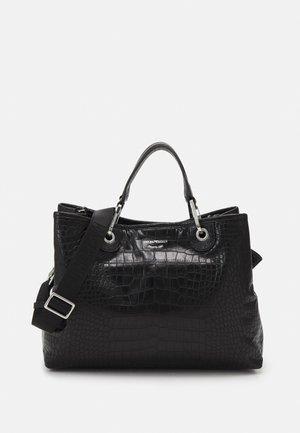 MY CROCO SET - Shopping Bag - black